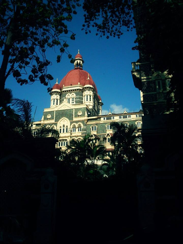 The Taj Mahal Palace Hotel front view