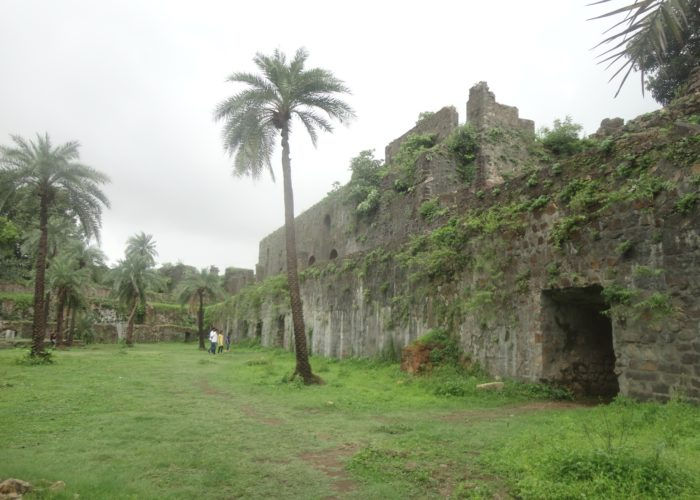 Inside Vasai Fort