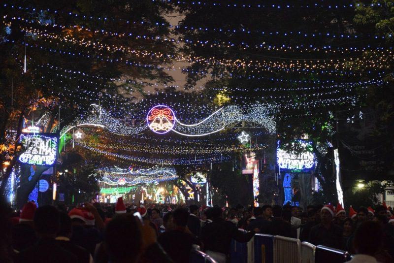 Park Street Christmas Kolkata