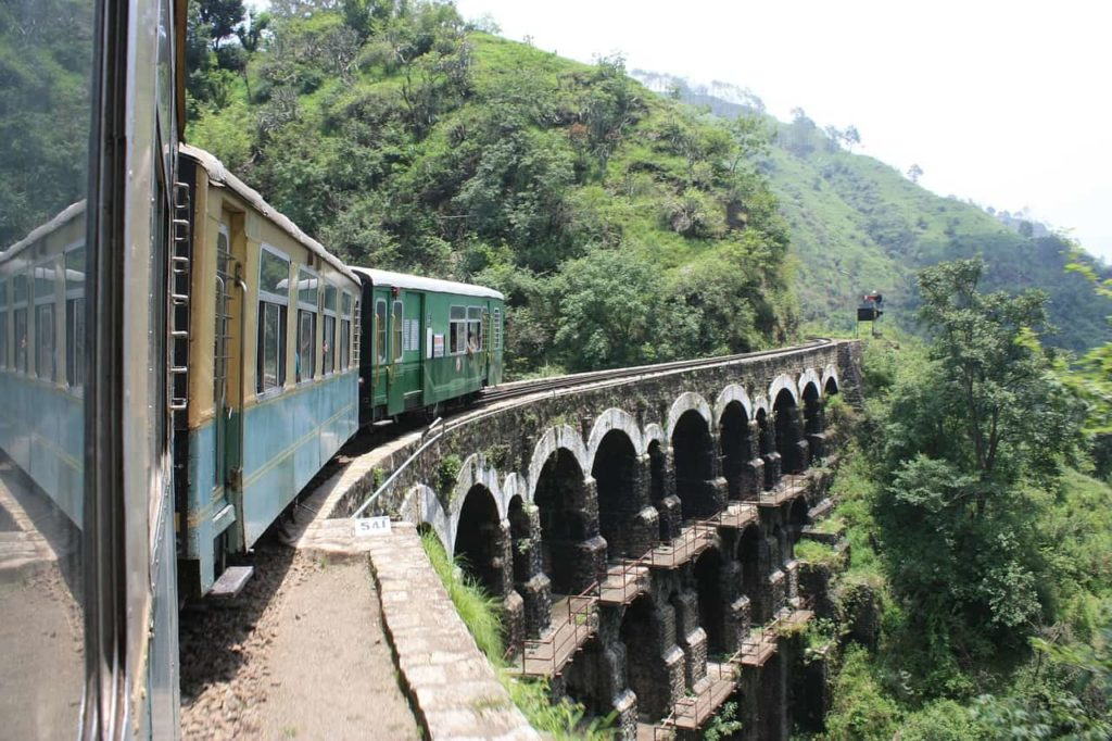 Shimla Mountain rail