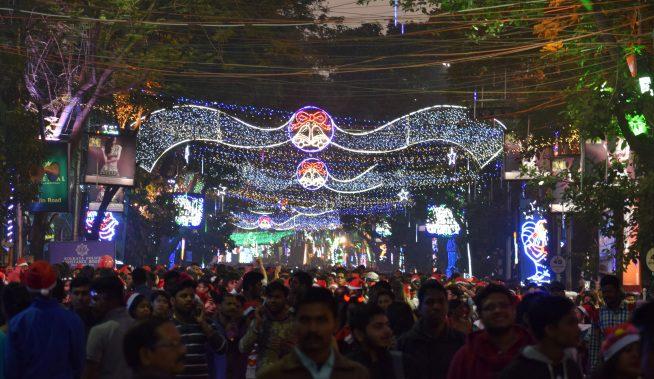 Park Street Kolkata During Christmas.Christmas In Kolkata Unique Attractions Of Kolkata During
