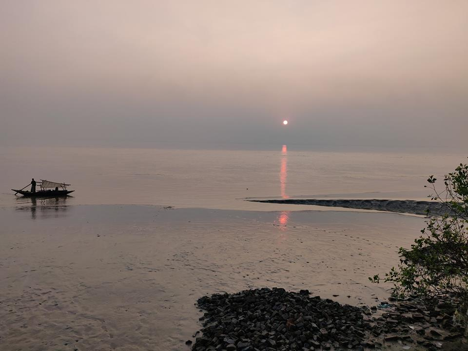 diamond harbour sunset