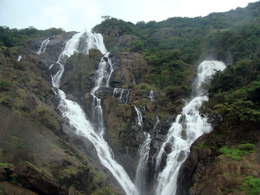 Dudhsagar goa monsoon